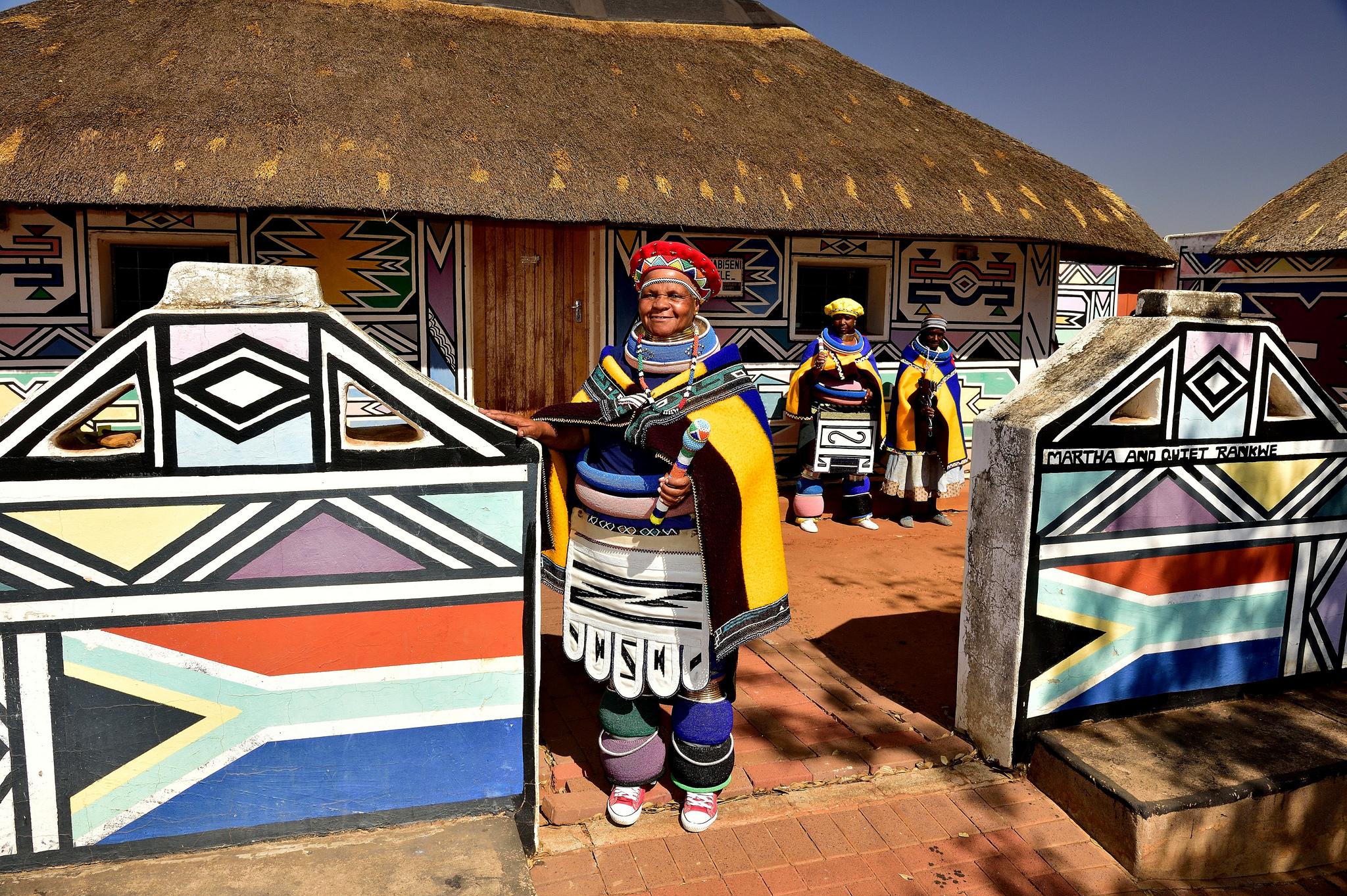 Esther Mahlangu y la cultura Ndebele
